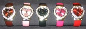 Heart Cuff Fashion Watches