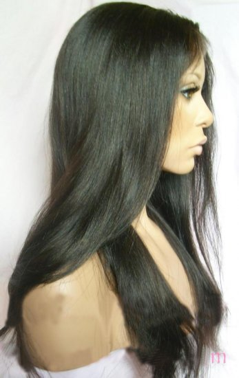 Custom order Remy Indian Hair Full Lace Wig 26""