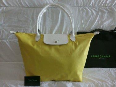 ONSALE Longchamp Auth. Limited Edition LE PLIAGE SM Palette Sarah Morris Handbag