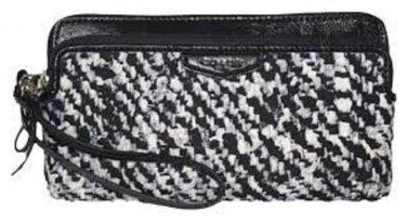 NWT Coach Donegal Double Zip Wristlet Wallet PurseF52287