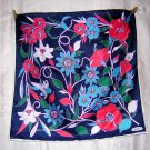 Unused acetate scarf Island Flowers Smith's Bermuda ll1878