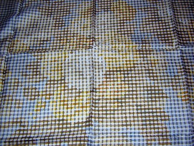 Cornelia James vintage silk scarf 60s Op Art Italy large ll1766