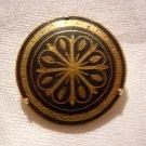 Damasquinado de Toledo brooch classic sunburst pin ancient goldwork ll1963