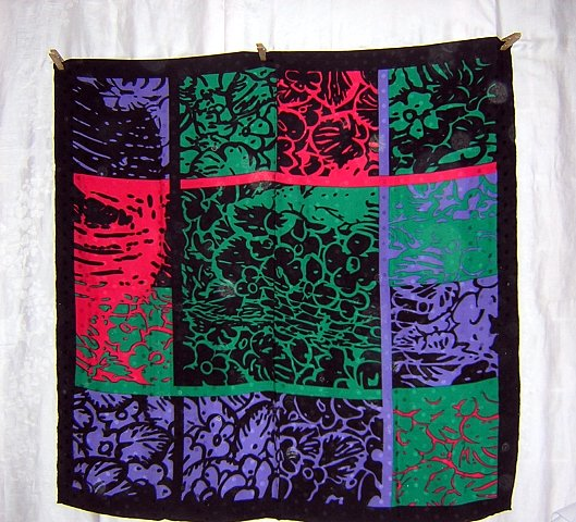 Luxurious silk scarf large dramatic mysterious perfect gift ll1763