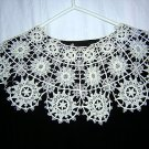 Chemical lace choirboy collar intricate needs work antique ll1889