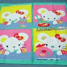 Little Sweet 3 desserts childs cotton hanky vintage hankies ll2145
