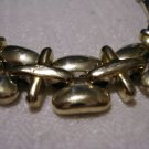 Liz Claiborne International bracelet silvertone plus equal links vintage ll2576