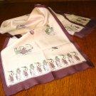 Roaring twenties ladies long scarf self fringe Stormy weather vintage ll3240