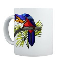 Tropical Bird Mug