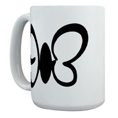 Butterfly Silhouette Mug
