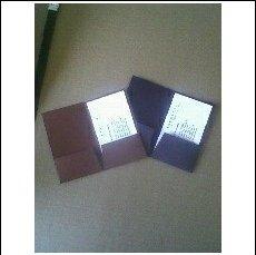 50 Super Mini Presentation Pocket Folders