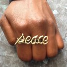 Peace 2-finger Ring