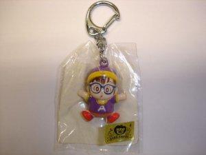 New 1998's Yutaka Dr.Slump Dr.���� Arale Norimaki hard plastic figure keychain