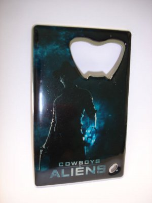 New Dreamworks cowboys & ALIENS bottle opener