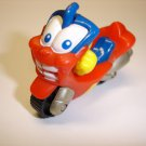 Used cute lovely RUMBO motorcycle diecast plastic toy model