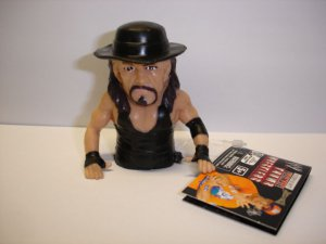 New WWE Wrestling Ultimate Thumb Wrestler Undertaker soft plastic action figure