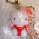 New cute Sanrio Hello Kitty #02 plastic figure keychain keyring charm