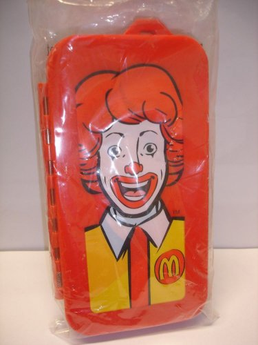 New Mcdonald Fun Club Uncle Ronald cutlery set