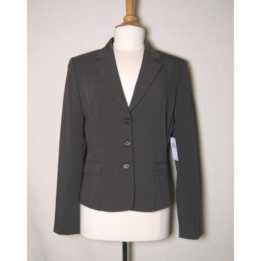 Lovely Espresso Brown TAHARI Blazer- Size 10