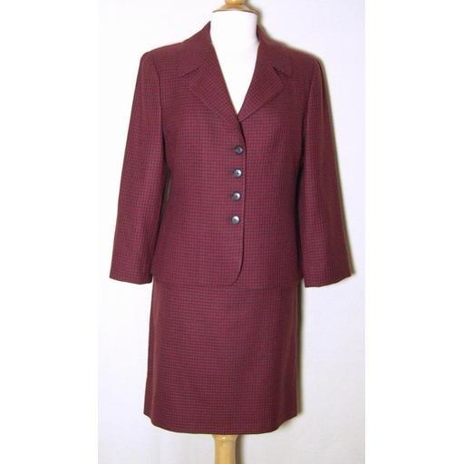 Cashmere Blend ELLEN TRACY Skirt Suit- 12P
