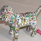 Victoria's Secret Limited Edition Grafitti Scribble Dog
