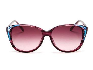 Ted Baker Karenza Cat Eye Sunglasses PURPLE HORN