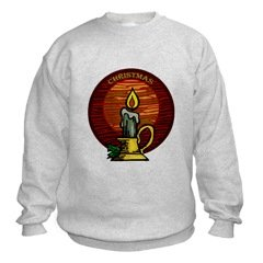 Christmas Candle Sweatshirt