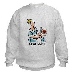 Hairdresser Sweatshirt (Style 2)