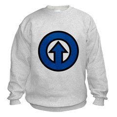 Blue Arrow Sweatshirt