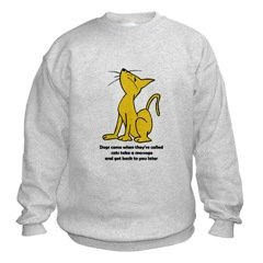 Cat Attitude Sweatshirt
