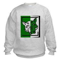 Green Pig Sweatshirt