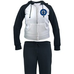 Blue Arrow Woman Womans Jogging Suit