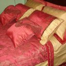 Kuld - 9 Pc Jacquard Ultra Luxury Bedding Set