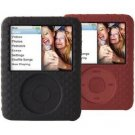 Belkin Textured Silicone Sleeve Case iPod nano 3G 3rd Generation 4GB/8GB Video Black & Red (2 Pack)