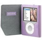 Belkin Leather Folio Case for iPod Nano 3G 3rd Generation 4GB/8GB Video (Lavender) F8Z267-LAV