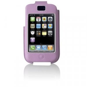 Belkin iPhone Case - Formed Leather - (Lavender) for 1G 1st Generation - F8Z271-LAV