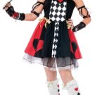 Queen of Hearts Costume Child Size M Medium 8-10