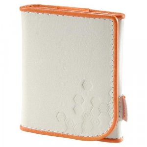 Belkin Leather Folio for iPod nano 3G 3rd Generation 4GB/8GB Video (Bone Persimmon) F8Z206-OT