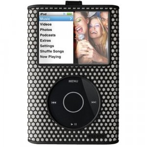 Belkin Micro Grip Case for 80GB/120GB iPod classic 6G 6th Generation (Black) F8Z256-BLK