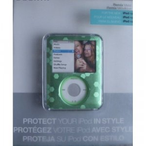 Belkin Remix Metal Case for iPod nano 3G 3rd Generation 4GB/8GB Video (Green) F8Z238-GRN
