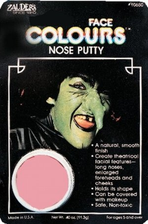 Nose Putty Scar Skin Warts Moles Halloween Makeup Witch Pirate