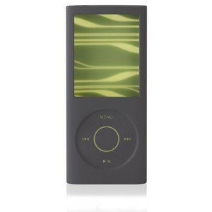 Belkin Sonic Wave Two-Tone Silicone Sleeve Case for iPod nano 4G 8GB/16GB Video Gray F8Z379-GGF