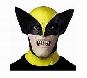 Wolverine X-Men Full Overhead Latex Mask Costume Accessory Xmen Adult Size