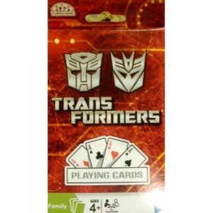 Hasbro Deck of Transformers Playing Cards