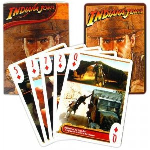 Indiana Jones Movies Deck of Playing Cards