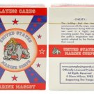 US Marine Corps Mascot Deck of Playing Cards