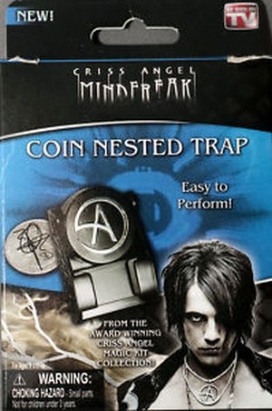 Criss Angel Mindfreak Coin Nested Trap Magic Trick
