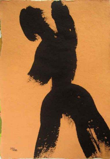 Black Nude 25