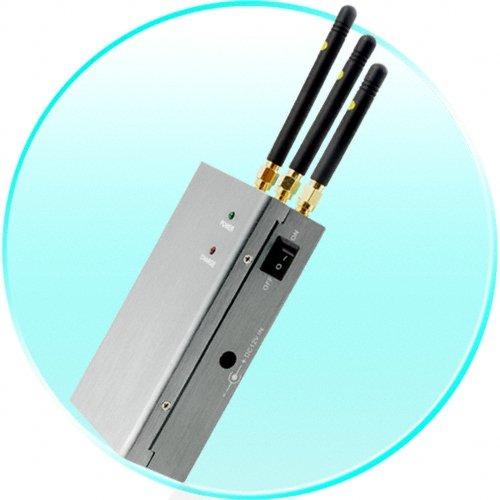 High Power Portable Cellphone Jammer