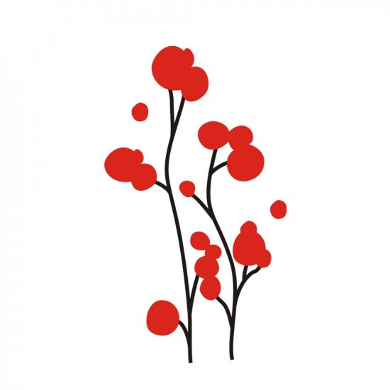 BLOSSOM WALL VINYL DECALS ART GRAPHICS STICKERS